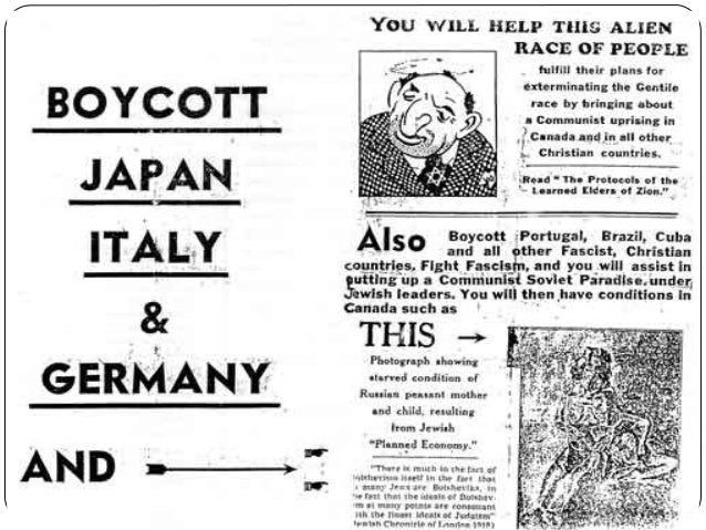discrimination canada 1920s Around the same time, attitudes in the united states on racial, ethnic and  religious discrimination were evolving to reflect the rise of postwar.