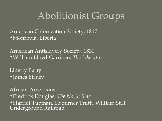 abolitionist movement and william lloyd garrison essay Home history news wires white papers and books the abolitionist movement gained momentum in the early 1830s when prominent white leaders such as william lloyd garrison left the american colonization society and adopted the position that nothing short of the immediate.