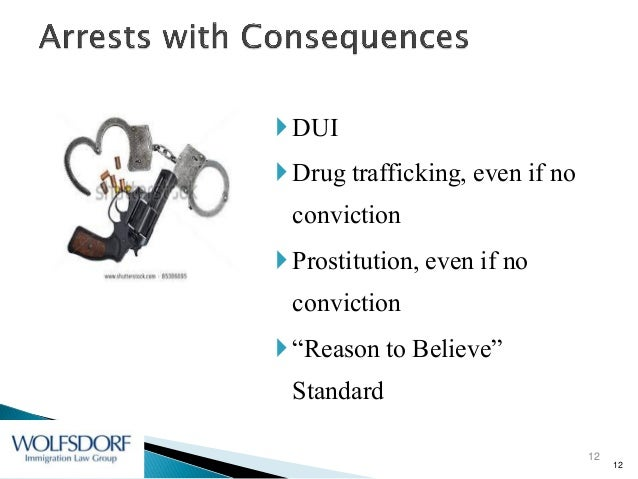 Immigration consequences of criminal activity by f1 and j1