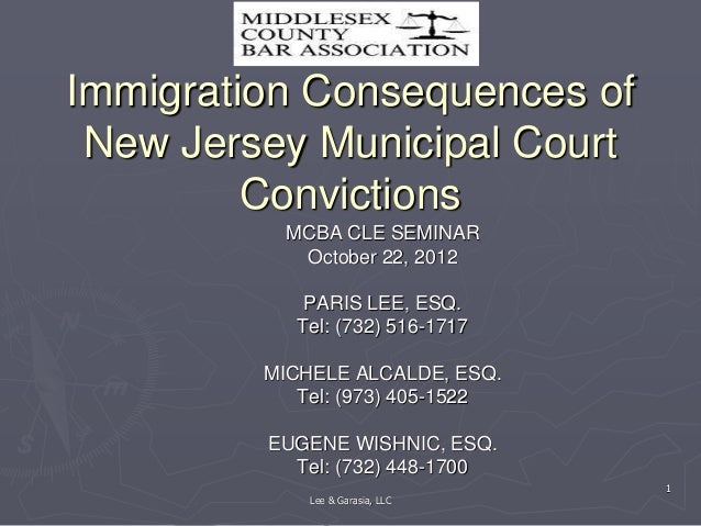 What Crimes In New Jersey Can Get You Deported?
