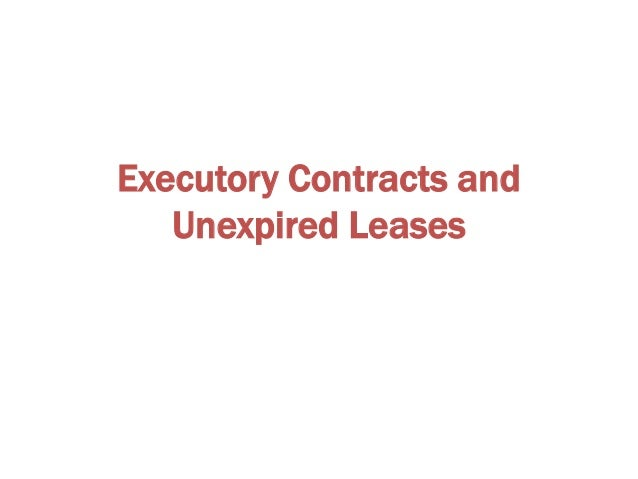 Executory Contracts As a condition to the assumption or assignment of a contract or lease, the debtor must: (i) cure or pr...