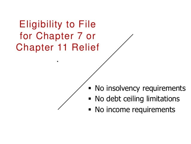 Chapter 7  Appoints an interim Chapter 7  Right to elect a different trustee  Trustee is authorized to hire counsel and...