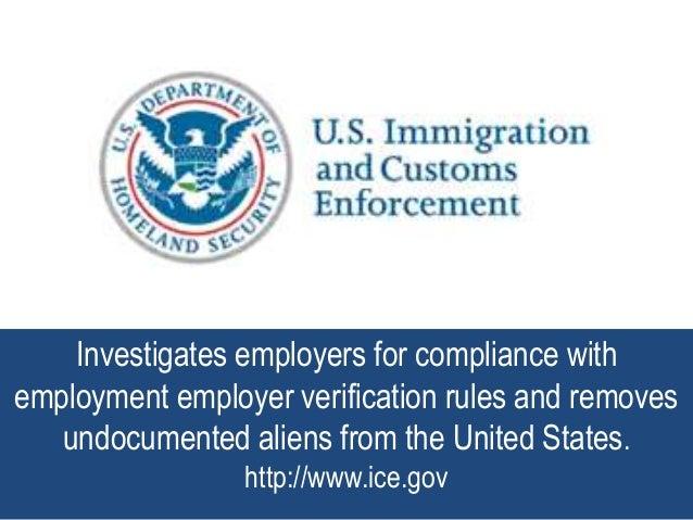 Immigration Compliance Plan