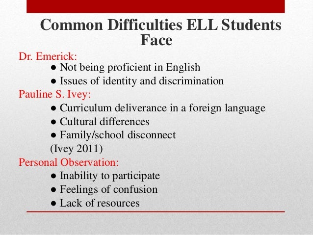 difficulties arabic students face in english language learning Communication problems facing arab  home country where the native language is arabic the only way to learn english in jordan is  egyptian students face certain .