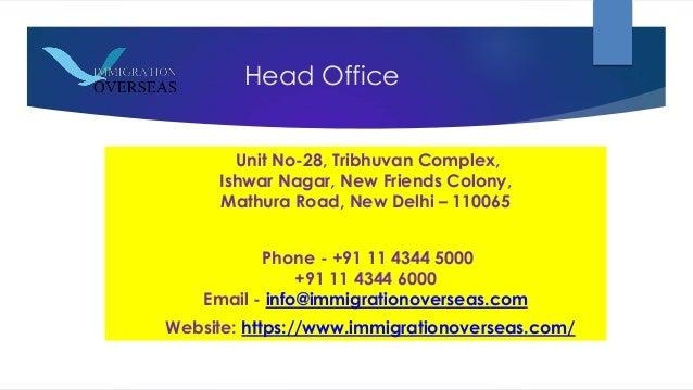No Immigration Overseas Pvt Ltd Complaints Delhi