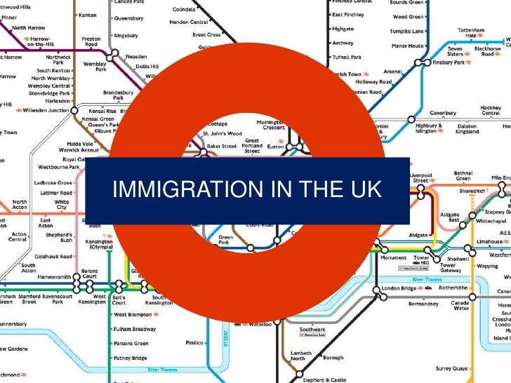 IMMIGRATION IN THE UK<br />