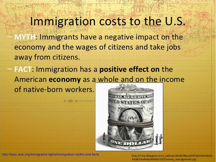 the negative impacts of immigration on the united states and its economy Thesis: illegal immigration has many harmful effects on the economy, crime rates, levels of employment in the country, on drug use, and on the black population of the country introduction: illegal immigration has more negative effects than positive ones on the untied states illegal immigrants.