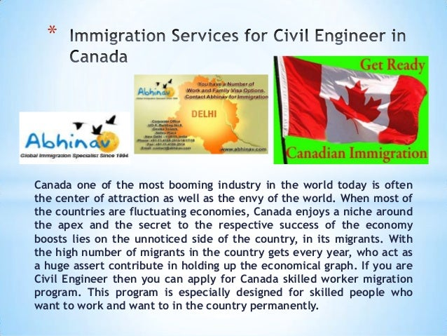 Canada one of the most booming industry in the world today is often the center of attraction as well as the envy of the wo...