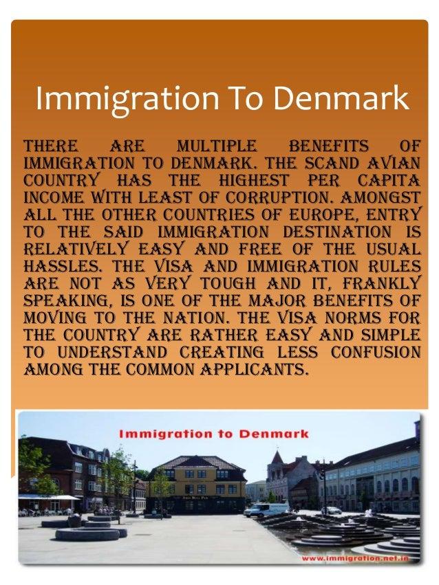 Immigration to denmark Slide 2