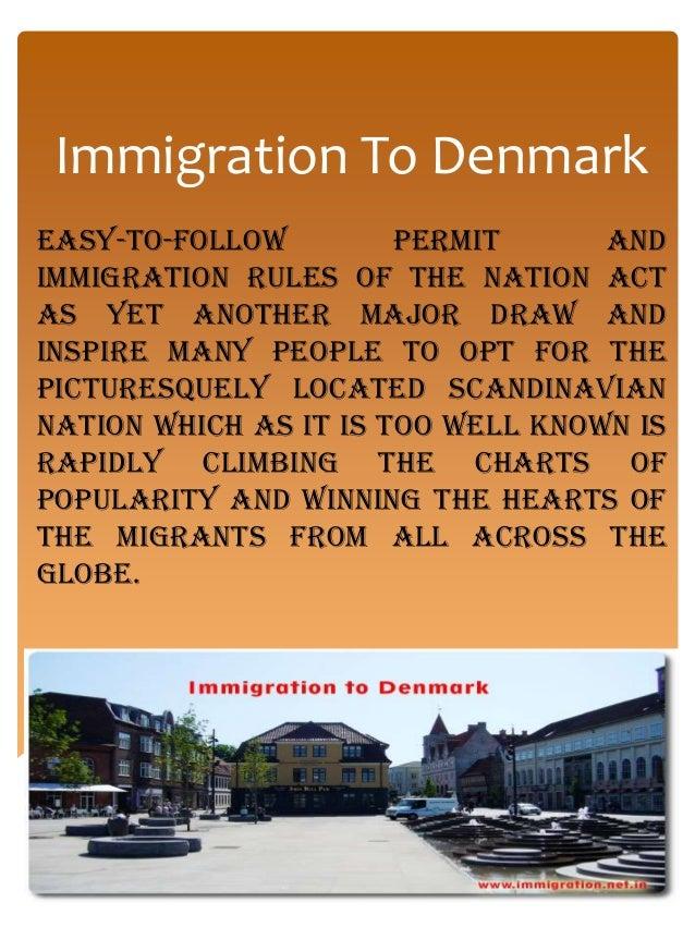 Immigration to denmark Slide 3