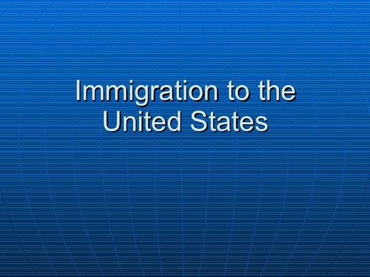 Immigration to US Ellis Island