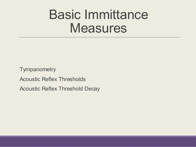 Immittance audiometry pdf to word