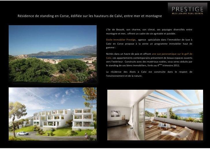 7655560-546735Résidence de standing en Corse, édifiée sur les hauteurs de Calvi, entre mer et montagne <br />-452755601980...