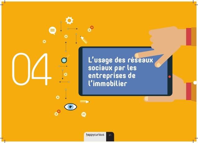 04 L'usage des réseaux sociaux par les entreprises de l'immobilier 21