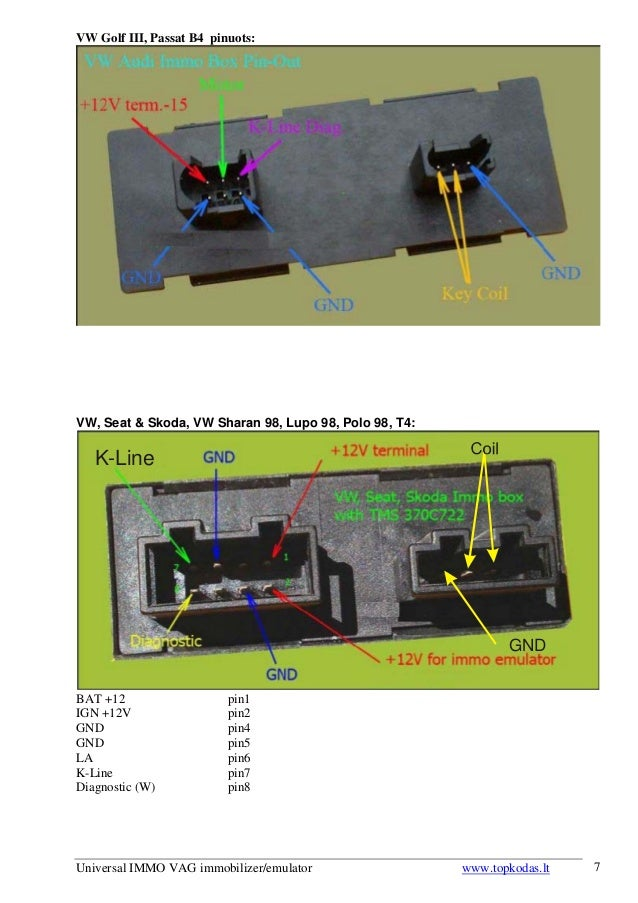 universal immo vag immobilizer emulator user\u0027s manual