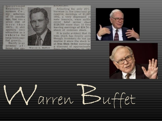 warren buffett investment genius or statistical Statistics department being warren buffett robert stine & dean foster statistics department the wharton school how do know if an investment has this property.
