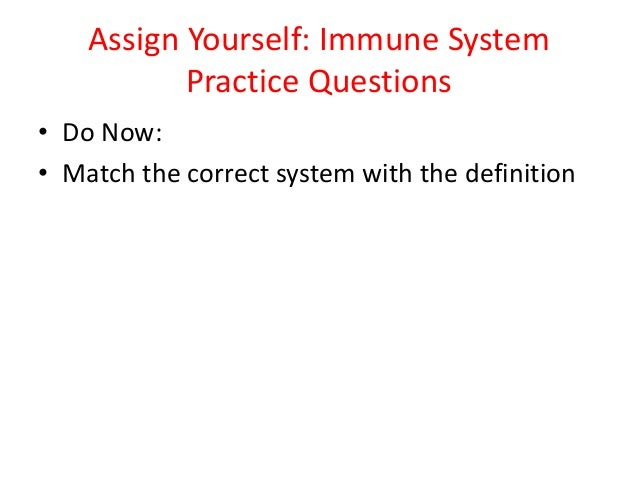 immune system correction essay The innate immune system operates in the absence of the specific adaptive immune system but is tied to adaptive immunity in many ways the innate immune system is characterized by a rapid response to an invading pathogen or foreign or effete cells.