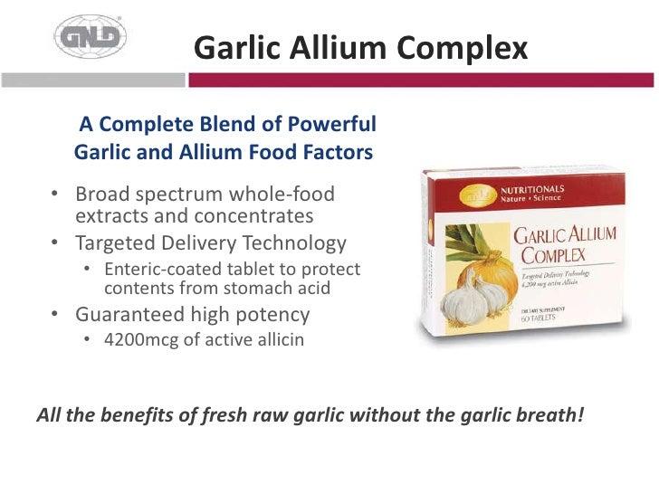 Powerful antioxidants</li></li></ul><li>Carotenoid Complex<br />Tested, Proven and Patented<br /><ul><li>Whole food-derived
