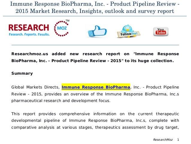 Report biopharma inc
