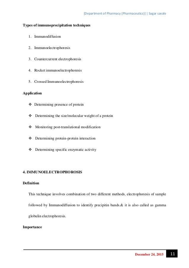Immunochemical techniques