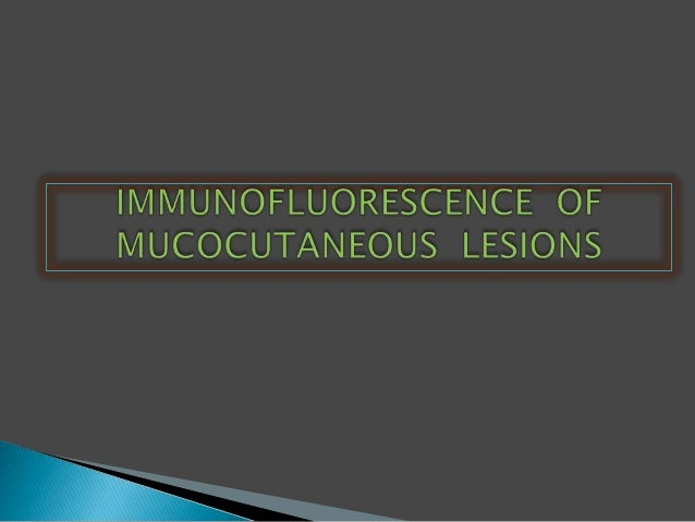 •Immunofluorescence is the labeling ofantibodies or antigens with fluorescentdyes.•Immunofluorescent labeled tissuesection...