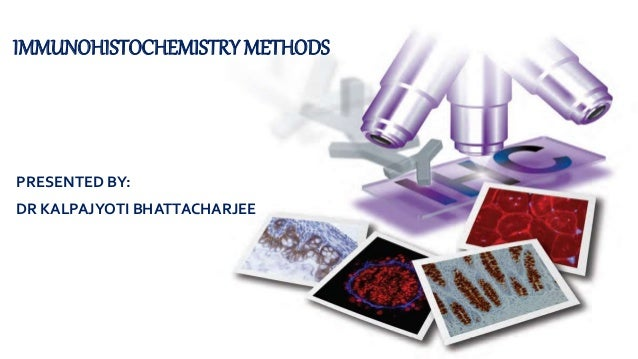 PRESENTED BY: DR KALPAJYOTI BHATTACHARJEE IMMUNOHISTOCHEMISTRY METHODS