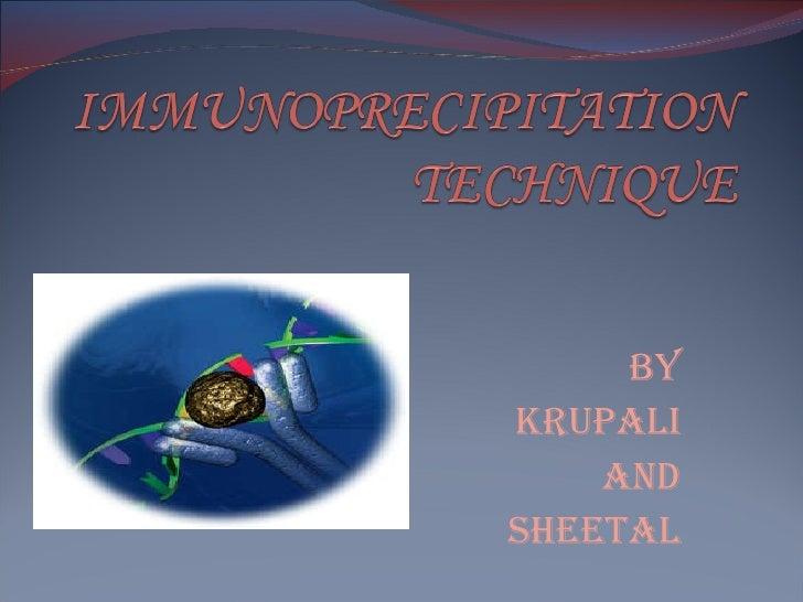 BY KRUPALI AND SHEETAL