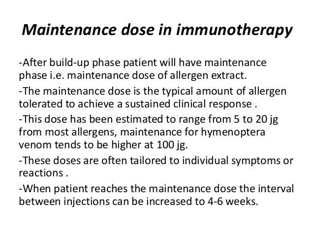 Immunotherapy workshop