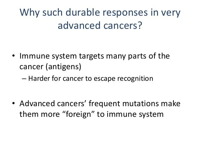 Immune therapy in triple negative cancers • Highest rate of PD-L1 expression • Highest rate of mutations • High level of i...