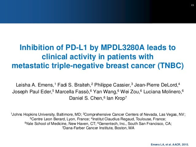 What do these trials tell us? • Provides proof that immunotherapy can work in breast cancer • Important to note that: – On...