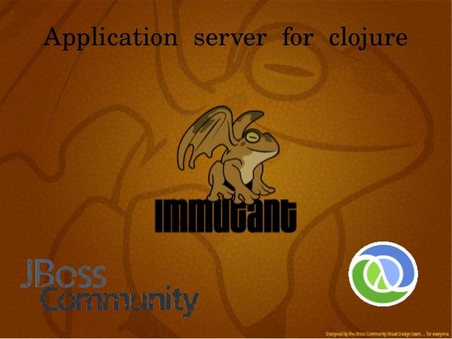 Application server for clojure