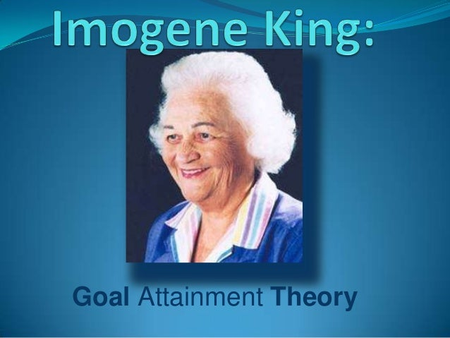 imogene king theory Imogene king's goal attainment theory for nursing is defined and explained.