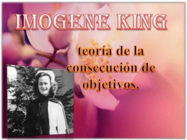 La teoría de King se concentra en las fases de planificación y aplicación del proceso de enfermería. El dúo enfermero/ a p...
