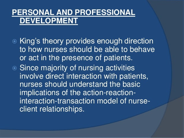 an overview of the interactions between the nurses and patients This paper describes the nature of nurse-patient communication in an overview of the contact each patient of interactions between nurses and patients.