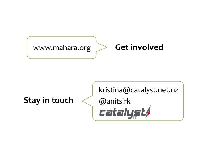Mahara: ePortfolio for Moodle users