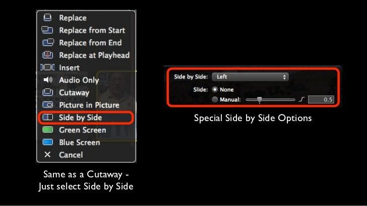 iMovie Advanced Editing - Layers