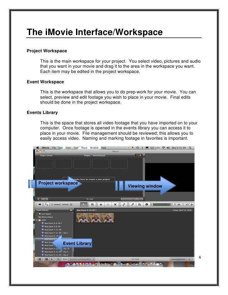imovie 09 manual rh slideshare net iMovie Editing Ideas for an iMovie