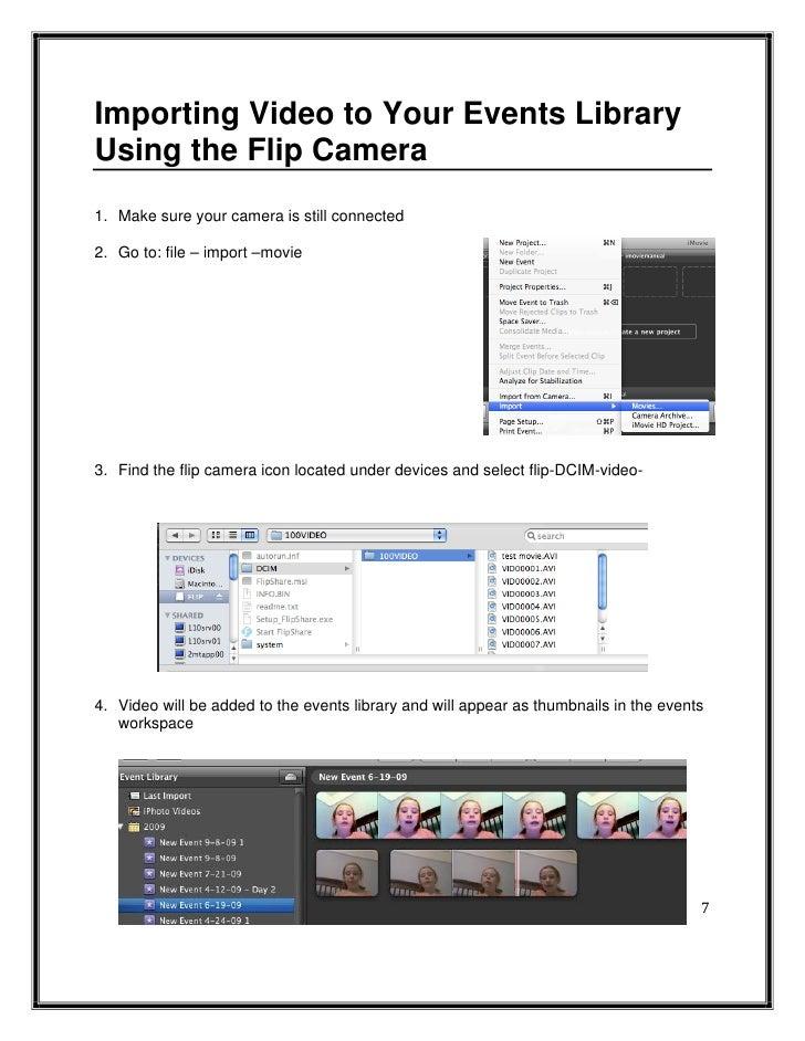 imovie 09 manual rh slideshare net iMovie Logo Ideas for an iMovie