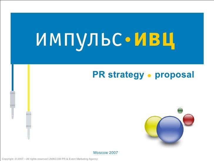 .                                                                      PR strategy        proposal                        ...