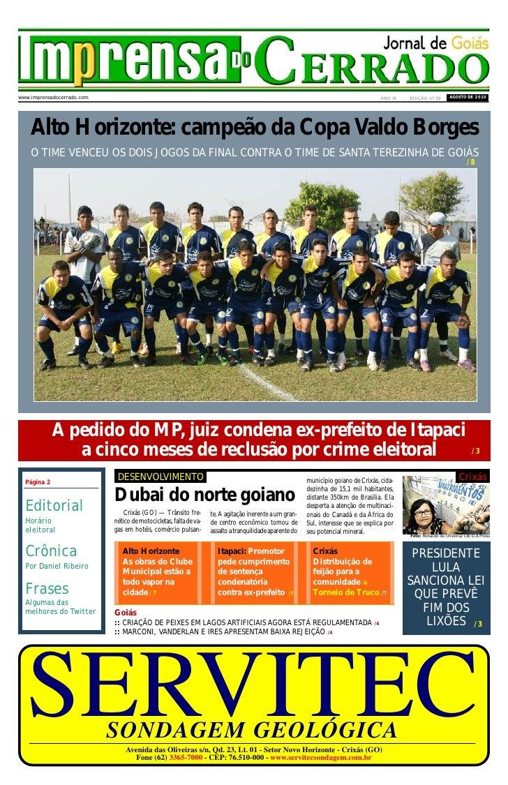 imprensa CERRADO          DO                                                                                              ...