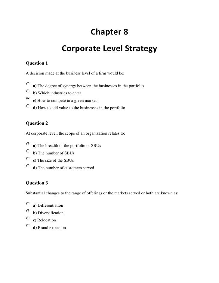 google s corporate level strategy Free essay: business level strategy google currently pursues the generic business level strategy of differentiation google offers many unique products and.