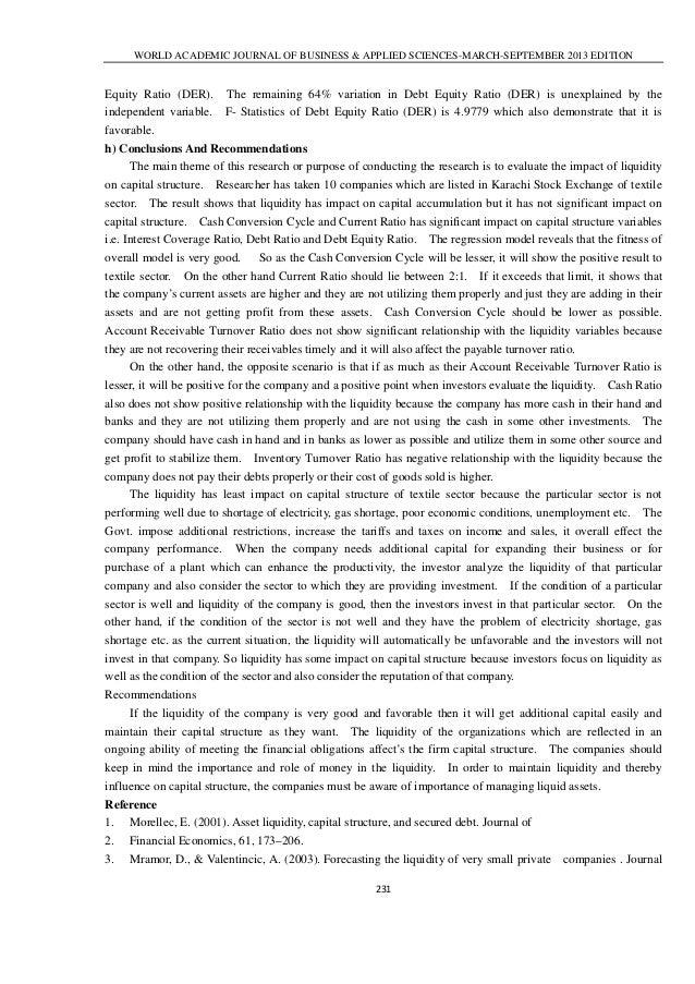 interest coverage ratio academic journal pdf