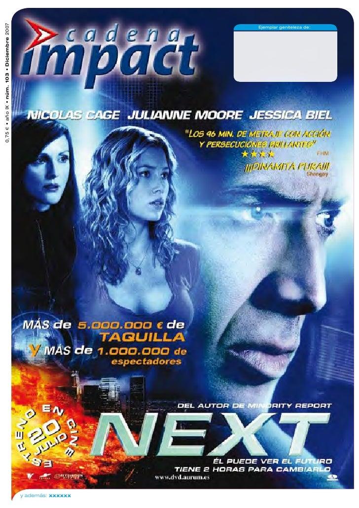 0,75 € • año IX • núm. 103 • Diciembre 2007     y además: xxxxxx                                                          ...
