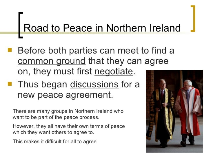 causes impacts of northern ireland conflict Northern ireland conflict centres on religious values and behaviour is therefore   the way is open to ignore the impact of catholic nationalist realities on.