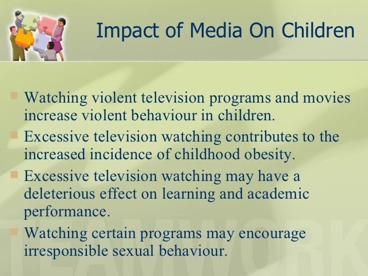 impact of violent content on children New research suggests that hours of exposure to violent media like video games can make kids react in more hostile ways compared to ones who don't spend lots of time.