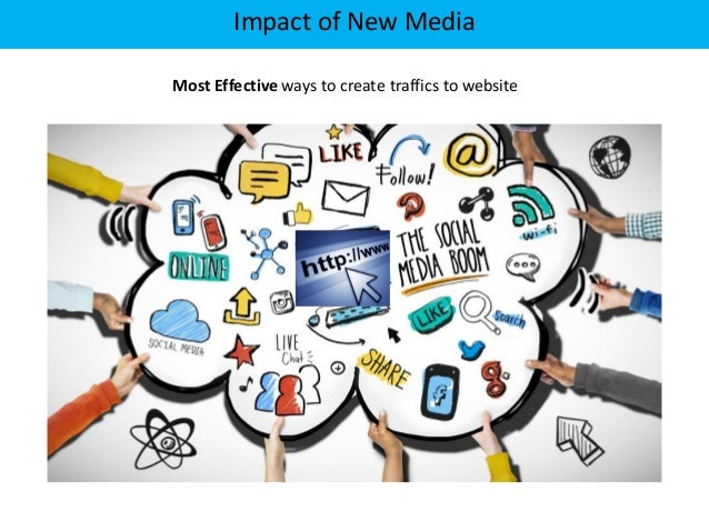 the effect of new media According to pew research, 70% of facebook users check their account once a  day (including 45% who check it multiple times a day) social.