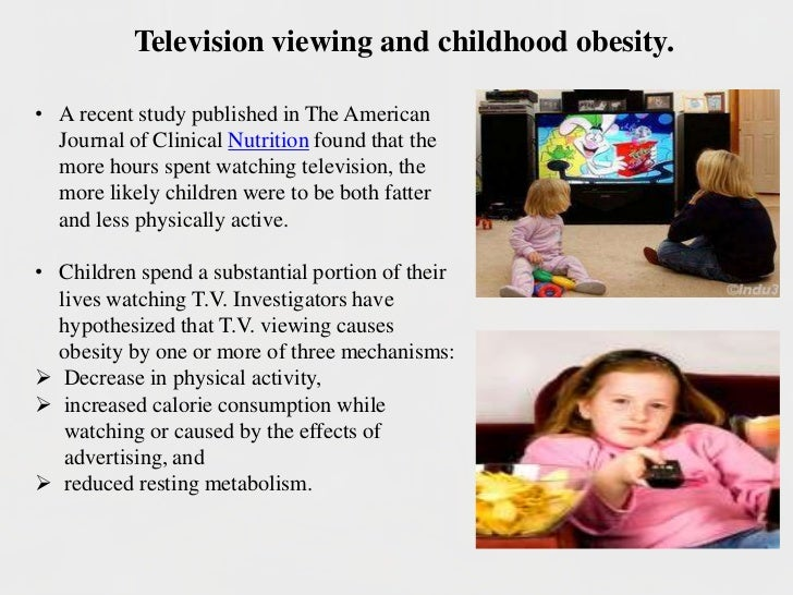 television and also unhealthy weight essays