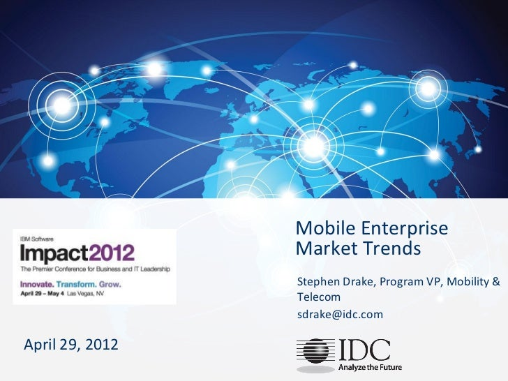 Mobile Enterprise                                                                                   Market Trends         ...