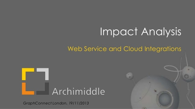 Impact Analysis Web Service and Cloud Integrations  GraphConnect London, 19/11/2013