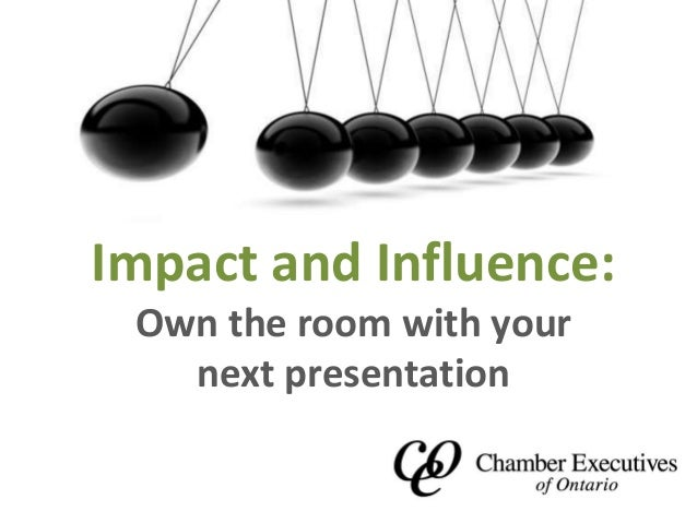 Own the room business presentations that persuade
